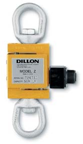 R D  JACOBS COMPANY  Dillon Load Cells, Dynamometers and Crane
